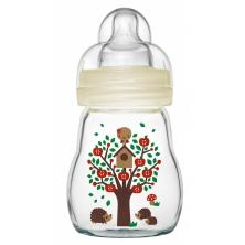 MAM Feel Good Glass Bottle 170ML-White