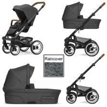 Mutsy Nio North 3in1 Black Chassis-Grey