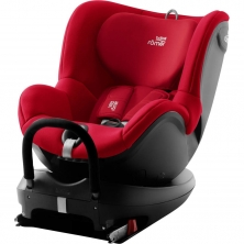 Britax Dualfix Family 2 R Group 0+/1 Car Seat & FOC Rear Facing Kit-Fire Red