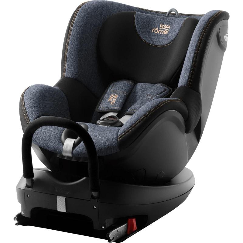 Britax Dualfix 2 R Group 0+/1 Car Seat-Blue Marble