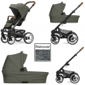 Mutsy Nio Adventure 3in1 Black Chassis-Sea Green
