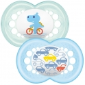 MAM Original 12+ Soother (Pack of 2)-Blue