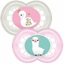 MAM Original 12m+ Soother (Pack of 2)-Pink