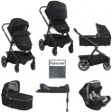 Nuna Demi Grow 3in1 Travel System-Caviar