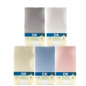 DK Glove ORGANIC Fitted Cotton Sheet for Sleepi/Leander Cot 120x70-(5 Colours)