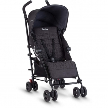 Silver Cross Zest Pushchair-Black (NEW 2019)