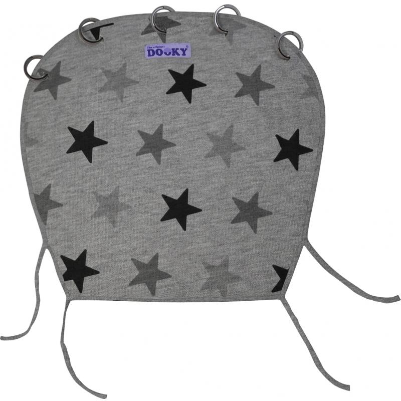 Dooky Universal Sunshade-Grey Stars