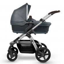 Silver Cross Wave Pram System & FREE Matching Simplicity Car Seat-Slate