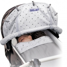 Dooky Universal Sunshade-Grey Crowns