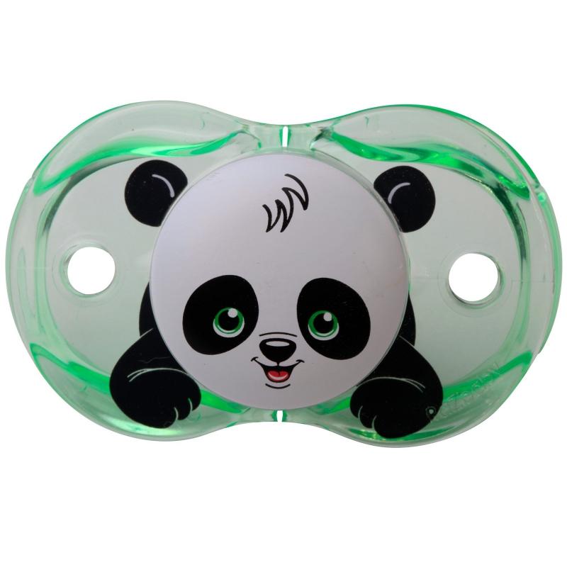 RaZBaby Keep It Kleen Pacifier-Panky Panda