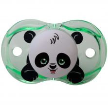 RaZBaby Keep It Kleen Pacifier-Panky Panda