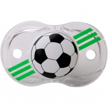 RaZBaby Keep It Kleen Pacifier-Soccer Ball