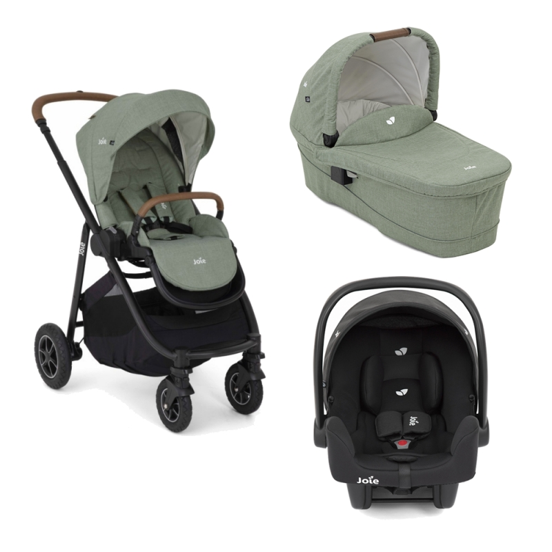 Joie Versatrax 4 in 1 Travel System-Laurel