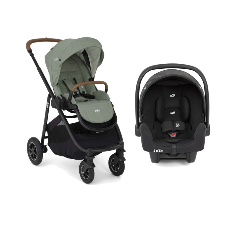 Joie Versatrax 3 in 1 Pushchair + Car Seat-Laurel