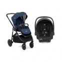 Joie Versatrax 2 in 1 Pushchair + Car Seat-Deep Sea