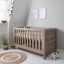 Tutti Bambini Modena Cot Bed-Oak
