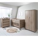 Tutti Bambini Modena 3 Piece Room Set-Oak