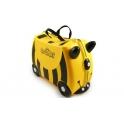 Trunki Bernard Bee Child's Ride-On Suitcase -Yellow