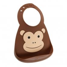 Make My Day Baby Bibs-Monkey