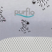 Additional Cover for Purflo Breathable Nest-Zebra
