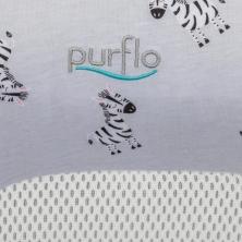Purflo Breathable Nest Cover-Zebra