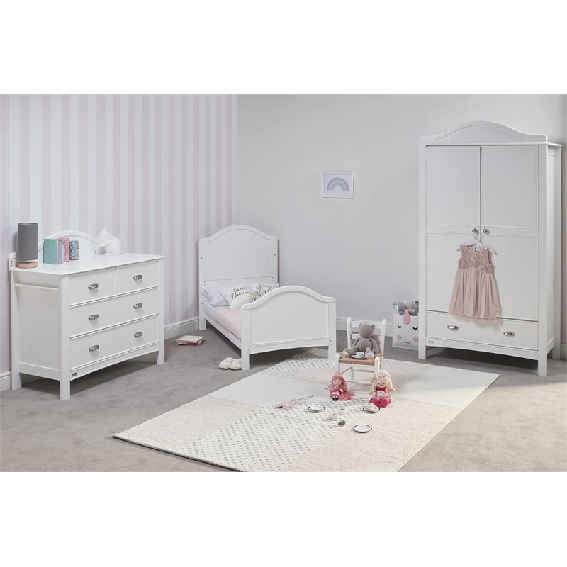 East Coast Toulouse 3 Piece Roomset-White HALF PRICE MATTRESS OFFER! LIMITED TIME ONLY