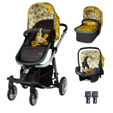 Cosatto Giggle Quad Travel System Bundle-Spot The Birdie