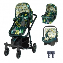 Cosatto Giggle Quad Travel System Bundle-Into The Wild