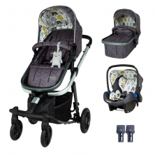 Cosatto Giggle Quad Travel System-Fika Forest