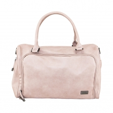 Isoki Double Zip Satchel Changing Bag-Mushroom