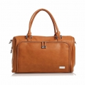 isoki Double Zip Satchel Changing Bag-Avalon