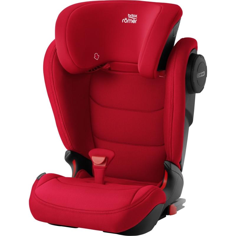Britax Kidfix III M Group 2/3 Car Seat-Fire Red