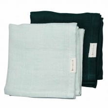 Fabelab Muslin Cloth - 2 pack - Sprout