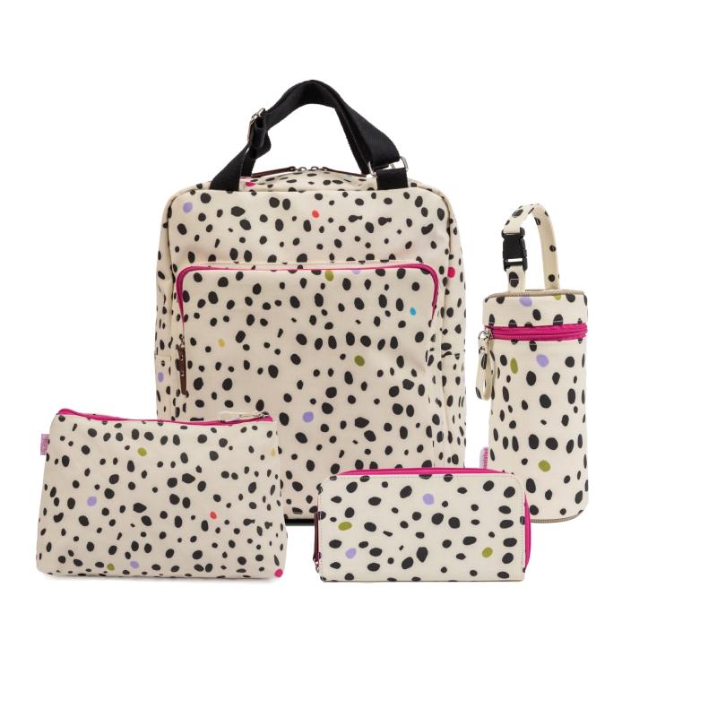 Pink Lining Wonder Bag Bundle-Dalmatian Fever