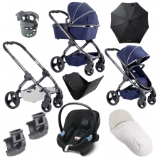iCandy Peach Phantom 9 Piece Bundle-Indigo
