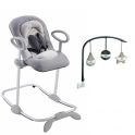 Beaba Up & Down Bouncer III With Free Arch-Grey
