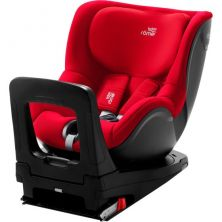 Britax Dualfix Family M I-Size Group 0+/1 Car Seat With FREE PROTECTOR-Fire Red
