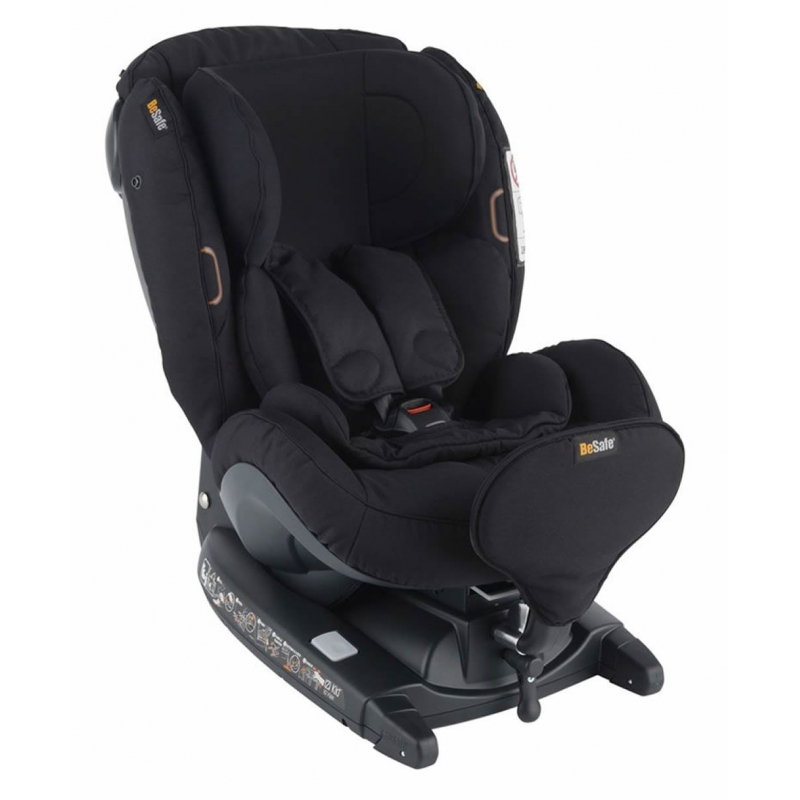 BeSafe iZi Kid X3 i-Size Group 1 Car Seat-Fresh Black Cab