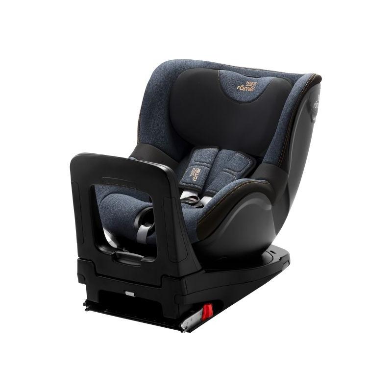 Britax Dualfix M I-Size Group 0+/1 Car Seat-Blue Marble
