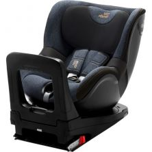 Britax Dualfix Family M I-Size Group 0+/1 Car Seat With FREE PROTECTOR-Blue Marble