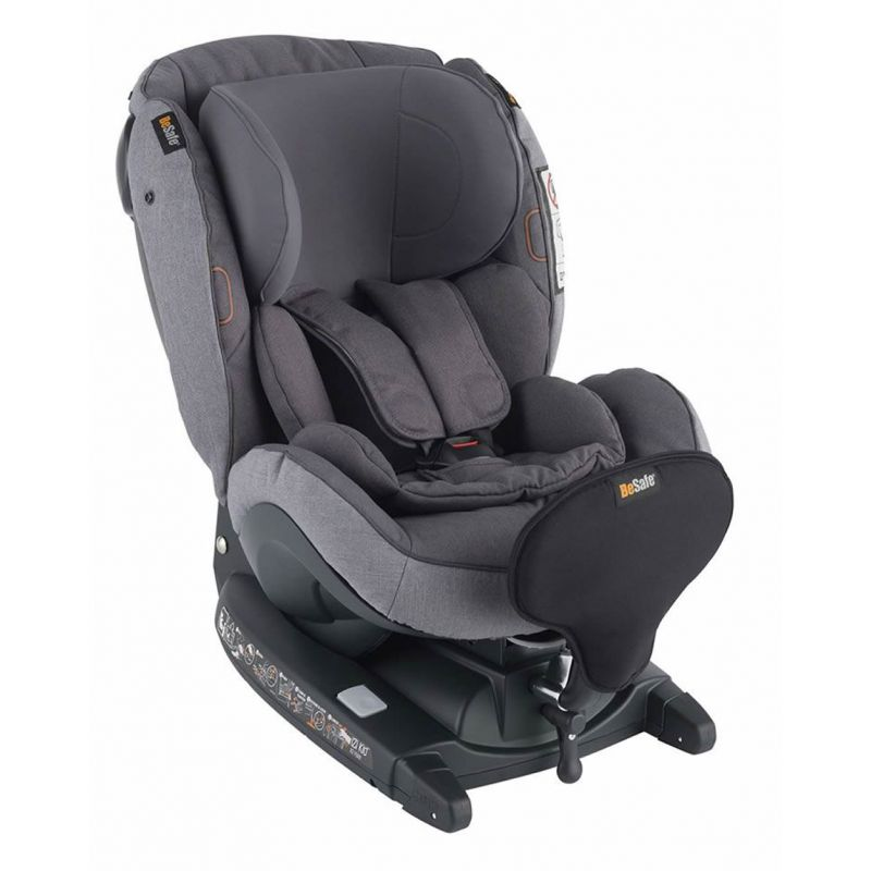 BeSafe iZi Kid X3 i-Size Group 1 Car Seat-Metallic Melange