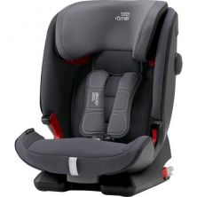 Britax Advansafix IV R Group 1/2/3 Car Seat & FREE SEAT PROTECTOR-Storm Grey