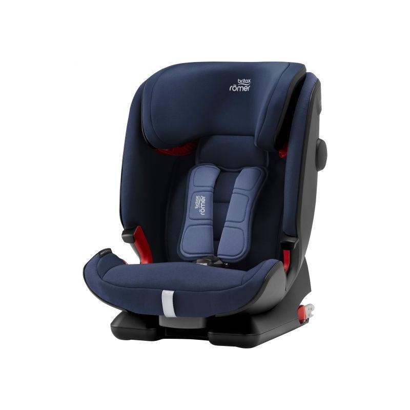 Britax Advansafix IV R Group 1/2/3 Car Seat-Moonlight Blue