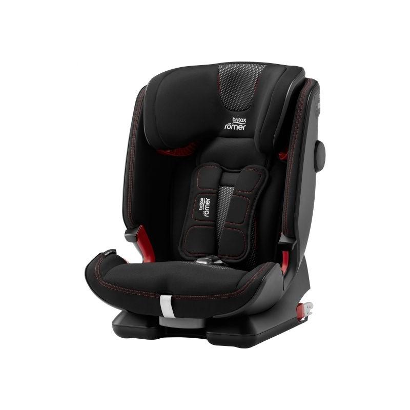 Britax Advansafix IV R Group 1/2/3 Car Seat-Cool Flow Black