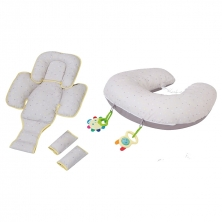 ClevaMama ClevaCushion 10in1 Nursing Pillow-Grey