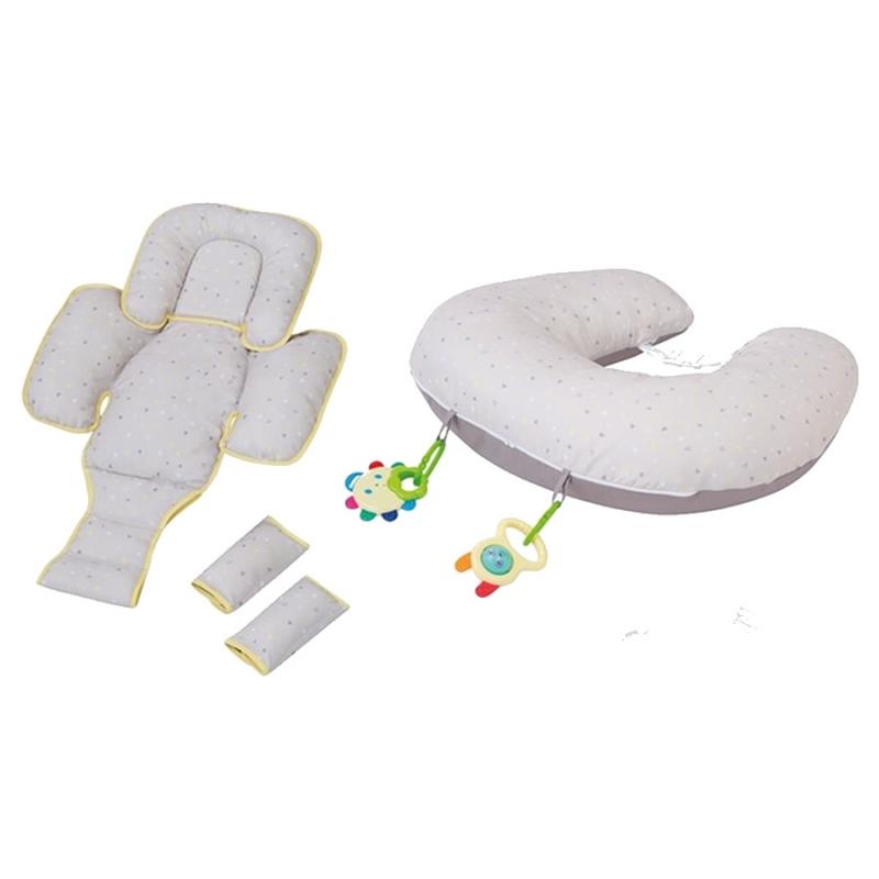 ClevaMama ClevaCushion 10in1 Nursing Pillow-Grey