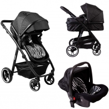 Red Kite Savanna Travel System–Black