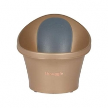 Shnuggle Baby Bath With Foam Back Rest-Gold (New)