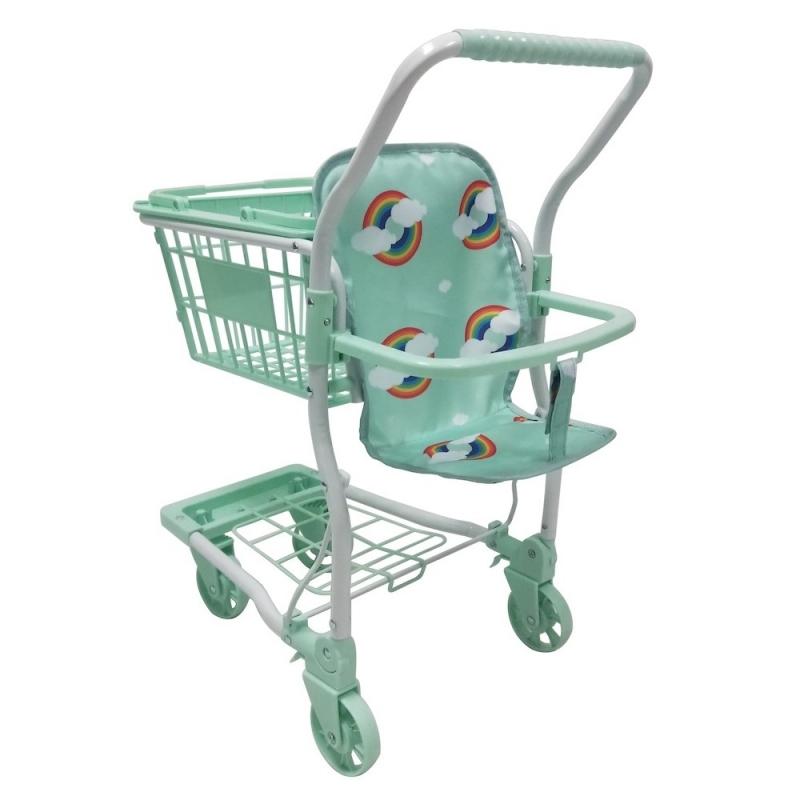 Roma Rupert Shopping Trolley-Mint