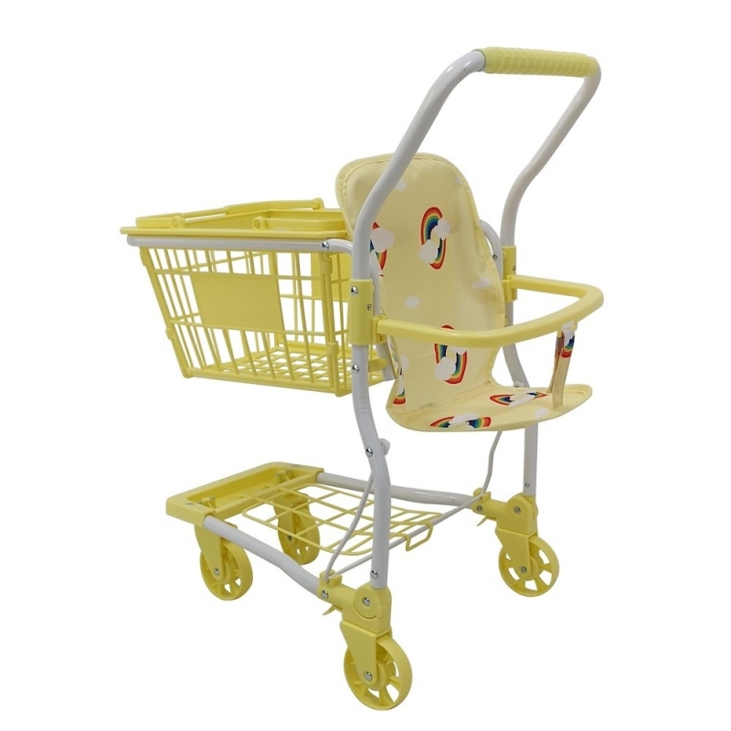 Roma Rupert Shopping Trolley-Primrose